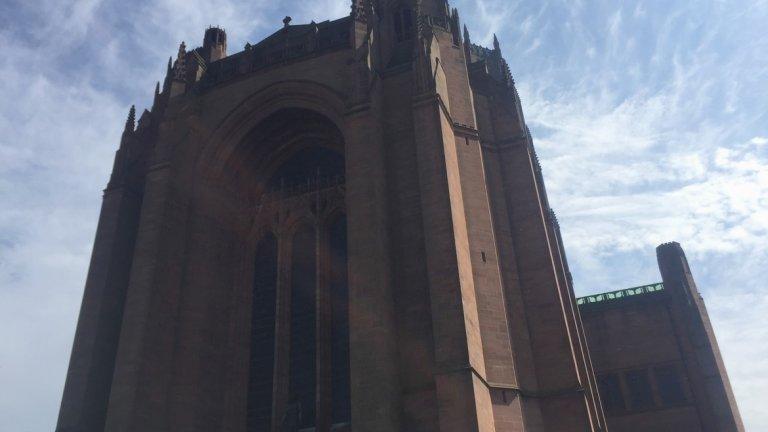 Катедралата с поглед над града