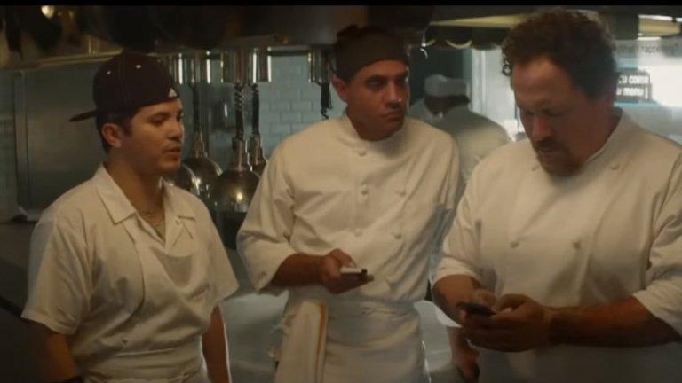 """""""Майстор-готвач"""" (Chef)  Когато готвачът Карл Каспър (Джон Фавро) изведнъж напуска работата си във виден ресторант в Лос Анджелис, след като отказва на свръхконтролиращия собственик (Дъстин Хофман) да прави компромиси с творческата си почтеност, е раздвоен какво да стори. Но все пак решава да замине за Маями, където живеят бившата му съпруга и сина му.  Първоначално Карл смята, че е приключил с готвенето, но семейството му успява да го убеди да купят камион за храна и да започнат собствен бизнес. А с новата работа готвачът разбира как е пламнала страстта по най-голямото му хоби."""
