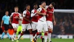 Колашинац влезе на почивката и почти веднага вкара изравнителния гол, след който играта на Арсенал най-сетне потръгна