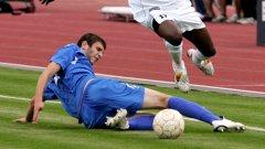 За 2,5 години в първия отбор 195-сантиметровият Иванов има 2 официални мача с шампионите и 20 участия