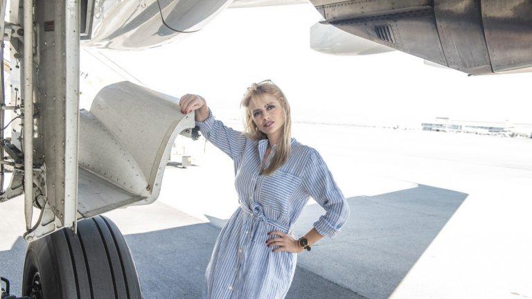 Надежда Петрова изпълнява полети от 12 години