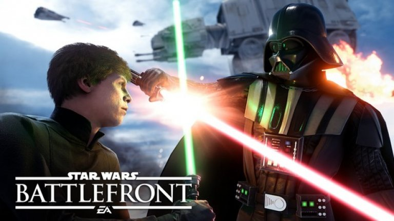 Видеоиграта Star Wars: Battlefront излиза през ноември