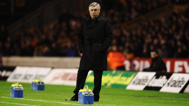 Карло Анчелоти по-скоро ще остане начело на Челси след края на сезона