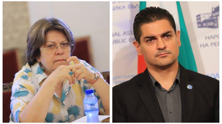 От ИТН се появиха твърдения срещу депутатката на ИБГНИ, че опитвала да разцепи партията им
