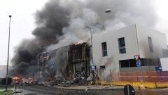 Според първоначалната информация причината за катастрофата са отказалите двигатели