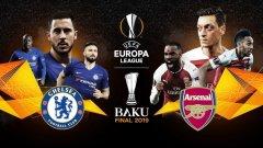 Челси и Арсенал влизат в битка за трофея в Лига Европа