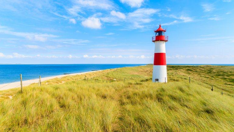 Кой е предполагал, че някой ще иска да отиде на плаж на Северно море