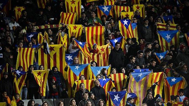 Ако се обяви независимост, Барса няма да може да играе в Примера.