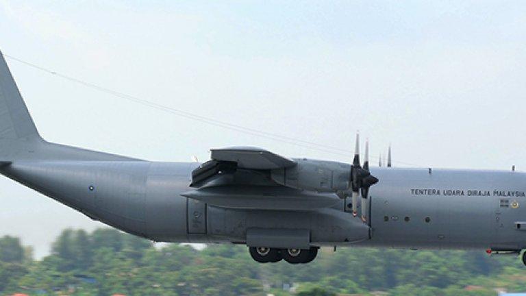 Два C-130 Hercules участват в търсенето от страна на Малайзия
