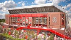 Ливърпул ще добави още места на стадиона си.