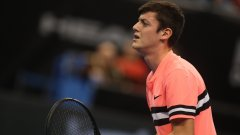 Положителен тест изхвърли един от българите от Sofia Open
