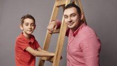 Какво е да бъдеш син на знаменития Асен Кисимов