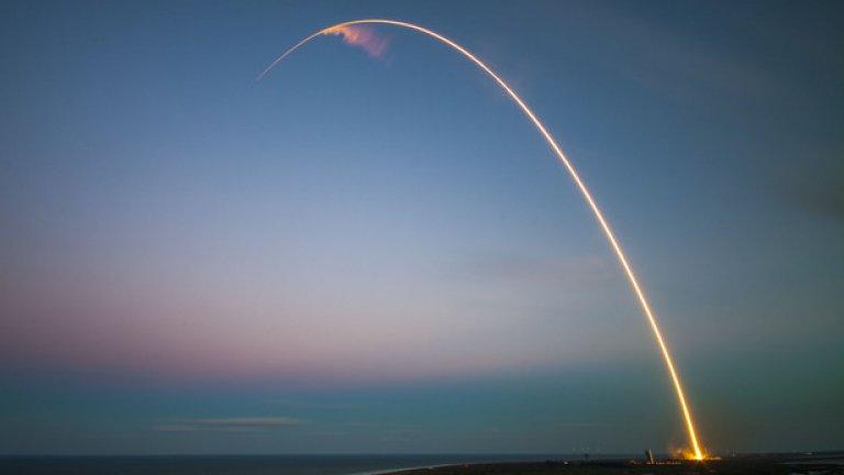 SpaceX се стреми да създаде ракети, които могат да бъдат изстрелвани многократно