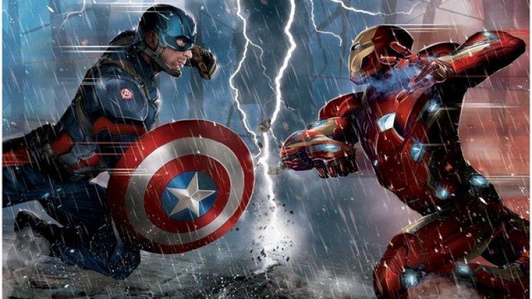 Зад сблъсъка между двамата супергерои някои видяха основни философски концепции на философи като Джереми Бентъм и Имануел Кант. Прагматичният Тони Старк разбира, че общественото мнение се обръща срещу супергероите и опитва да предотврати това според идеите на утилитаризма. Капитан Америка от своя страна вярва в правото на супергероите да запазят своята автономност и тайната на своите самоличности. Така той изглежда следва идеите на деонтологията на Имануел Кант