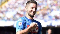 Дрис Мертенс отбеляза хеттрик, а Наполи вече води в Серия А