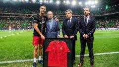 Аурелиу Перейра е най-важният човек в кариерата на Роналдо