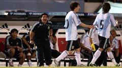 Диего Марадона търпи доста критики за треньорските си решения, но евентуална титла в ЮАР ще го превърне във футболно божество и в новото му качество