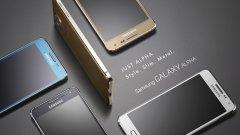 Samsung Galaxy Alpha ще бъде достъпен в няколко цвята – черно, бяло, златно, сребърно и синьо, като наличните цветове ще бъдат определени от всеки пазар