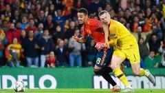 Двубоят беше пълен с интересни ситуации и остана вълнуващ до края, въпреки че Англия водеше с 3:0 още в 37-ата минута