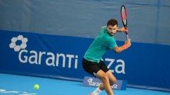 Григор Димитров започва участието си на Sofia Open срещу Йежи Янович, който победи в мача си от първи кръг Дуди Села