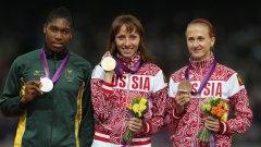 Дисквалификацията на Мария Савинова означава, че олимпийското злато от Лондон 2012 отива в ръцете на Кастер Семеня