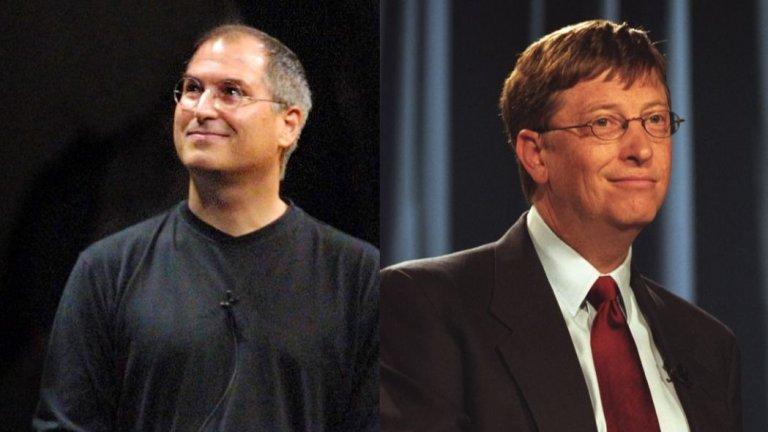"""Реакции от истинските Джобс и Гейтс е имало. Джобс е разказвал, че се е обадил на Ноа Уайли, казал му е, че мрази филма и сценария, но е харесал изпълнението на актьора, като е посочил """"ти приличаш на мен"""". Уайли дори се е появявал вместо Джобс на сцената на конференцията Macworld през 1999 г.  Гейтс пък е казвал, че във филма е представен """"сравнително точно"""". Всичко това, заедно с доста добрите оценки, превръща """"Пиратитe от Силициевата долина"""" във филм, който заслужава да гледате."""