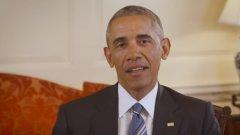 Във видеото, публикувано в сайта на Клинтън, Обама изразява подкрепата си за кандидатурата й