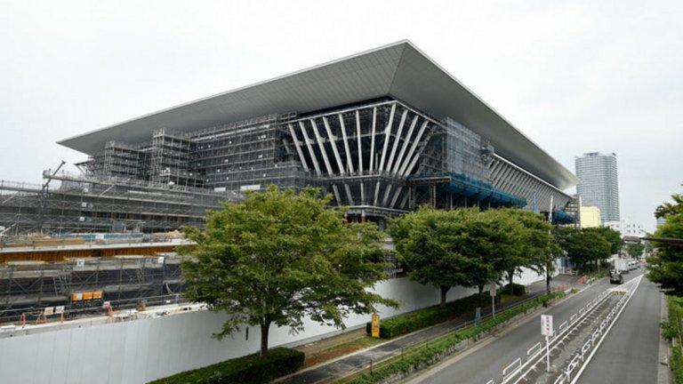 Олимпийски център по водни спортове (плуване, скокове във вода, синхронно плуване)