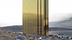 Как би изглеждало северното крайбрежие с позлатената Trump Tower