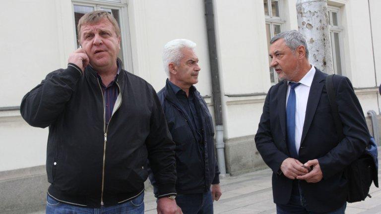 """Волен Сидеров: """"Симеонов извършва разрушителни действия срещу тройна коалиция, която аз създадох"""""""