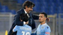 Лацио се събуди и сломи Наполи, Аталанта удари тежко Рома