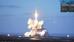 Исторически тест за Space X