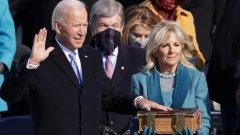"""""""Нов ден за Америка"""": Джо Байдън се закле като президент на САЩ"""