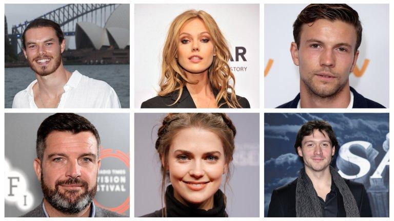 Актьорският състав вече е известен: на първи ред: Сам Корлет, Фрида Густавсон, Лио Сатър, на втори ред: Брадли Фригард, Лаура Бърлин, Дейвид Оукс.