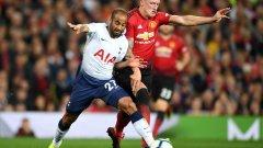 С пробивите си Лукас Моура съсипа Фил Джоунс и цялата защита на Юнайтед