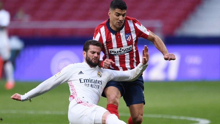 Късен гол отърва Реал в дербито и завърза борбата за титлата