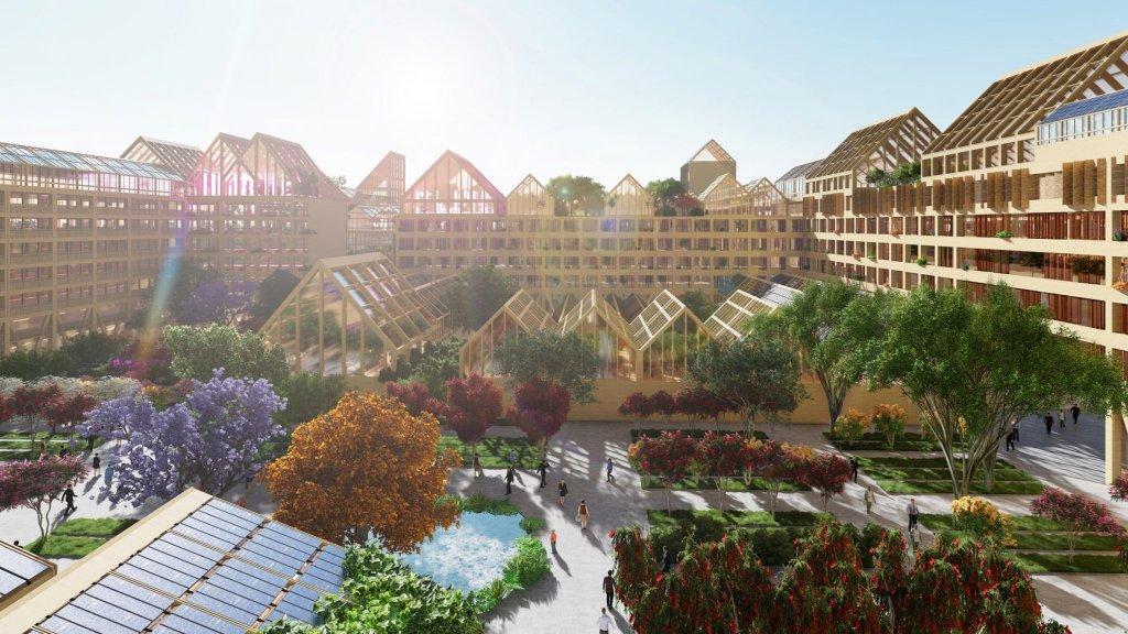 Оранжерии на покрива, слънчеви панели и дронове - ето как ще изглежда животът ни, ако трябва да живеем в перманента изолация