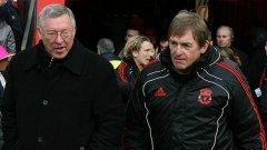 Съперничеството между двамата велики шотландци е символ на борбата за надмощие в английския футбол между Манчестър Юнайтед и Ливърпул
