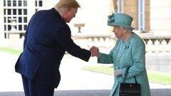 Американският президент е на тридневно посещение във Великобритания