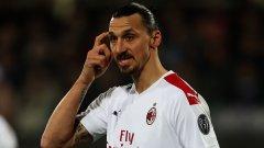 """Златан предпочете да се завърне в Серия """"А"""", за да заиграе за Милан."""