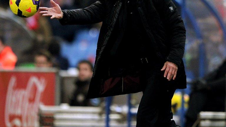 Симеоне остана недоволен от играта на Атлетико срещу Виляреал