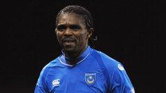 За последно Нванкво Кану игра в Портсмут - уж на 36-годишна възраст, а всъщност някъде на 45 г.