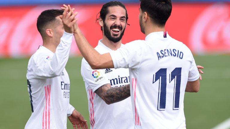 Комфортна победа отново изстреля Реал пред Барса