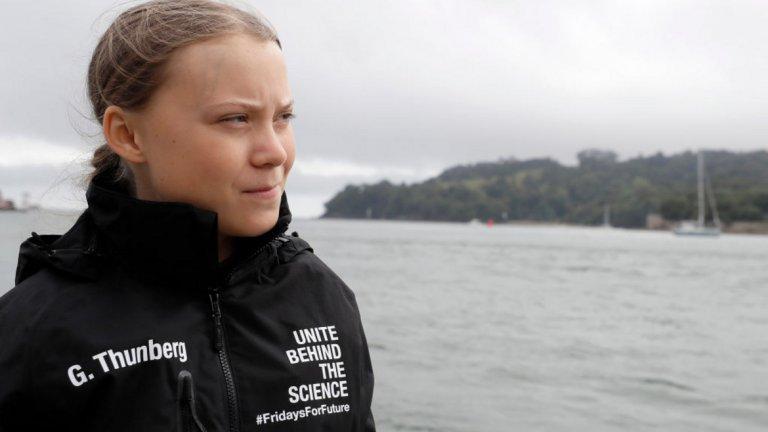 Тя ще говори пред ООН по въпроса за климатичните промени
