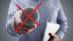Политиката на изключения микрофон.