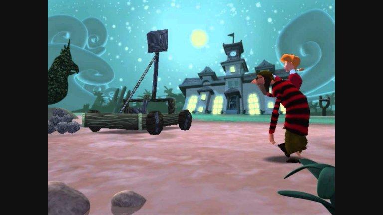 Escape from Monkey Island  Това е една истинска и доказана класика в категорията на куестовете, която съдържа най-важните два компонента на подобен тип заглавия – хубав диалог с околните персонажи и интересни, увлекателни пъзели за разрешаване. В играта го има класическия сблъсък между доброто и злото, като доброто ще победи само след немалко трудности и правилни решения.  Щастливият край на приключението, в центъра на което са остров Меле и една двойка младоженци, зависи изцяло от вас и от стъпките, които ще предприемете. И нека леко старомодната графика не ви плаши – играта е достатъчно увлекателна, че да ви накара да пренебрегнете дребните пропуски и неприятните мънички детайли.