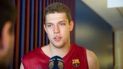 206-сантиметровият левичар изигра общо 151 мача с екипа на Барселона в испанското първенство и Евролигата.