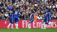 Челси очаква съперника си в двубоя за трофея, който ще бъде определен от Арсенал и Манчестър Сити.