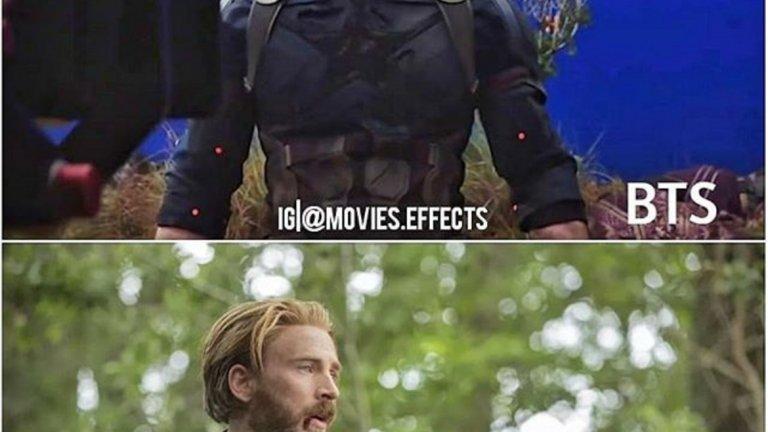 """Познахте ли Капитан Америка в """"Avengers: Infinity War?"""