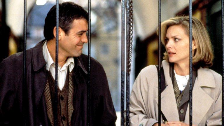 """""""Един прекрасен ден"""" Джордж Клуни и Мишел Пфайфър са родители, на които им се налага да се грижат за децата си в най-напрегнатите дни от своите кариери в този филм от 1996 г. Филм за любовта и (не)случайностите, който ще ви припомни, че в живота има и хубави срещи."""